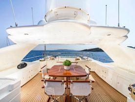 First look inside refit superyacht LIBERTAS
