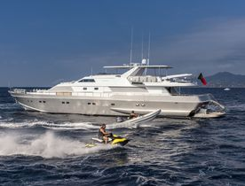Superyacht ANTISAN Joins The Charter Fleet With Mediterranean Availability