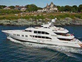 IMAGINE Yacht Renamed Motor Yacht 'Aspen Alternative' and Available for Charter