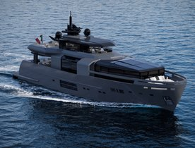 Arcadia A105 makes successful world debut at Cannes Yachting Festival
