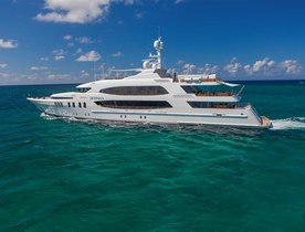 Superyacht SKYFALL New for Charter in the Caribbean