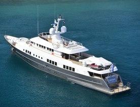 Superyacht BERZINC has charter availability in Croatia