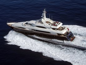 Be among the first to charter CRN superyacht BUNKER