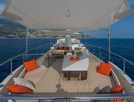 Reduced Rates on Charter Yacht SULTANA