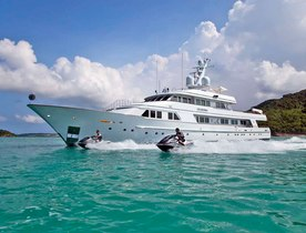 Superyacht CHARISMA Changes Rate Currency