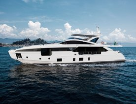 Azimut Grande 32 Metri revealed at Cannes Yachting Festival 2018