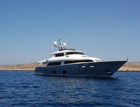 Motor Yacht 'Seventh Sense' Joins Global Charter Fleet in Croatia