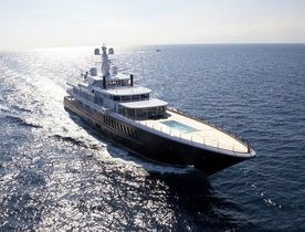 81m Charter Yacht AIR Offers Reduced Rates in the East Mediterranean