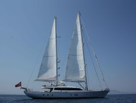 Custom Sailing Yacht Glorious For Charter