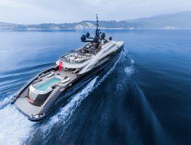 Superyacht OKTO Joins Global Charter Fleet