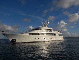 Caribbean Yacht Charters Available on Motor Yacht DONA LOLA