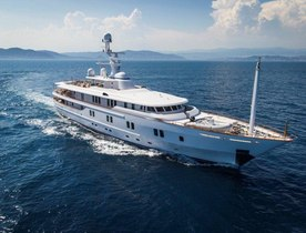 Superyacht 'New Sunrise' Joins Charter Fleet