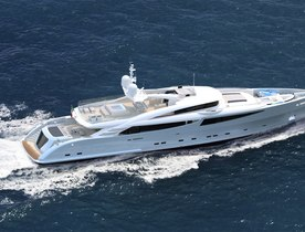 Superyacht PHILMI Open for Event Charters on the French Riviera