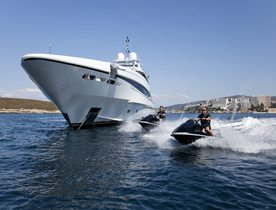 Mediterranean charter deal: Luxury yacht JEMS reveals special offer
