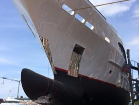 Lengthened Superyacht 'Seven Sins' Re-Launched
