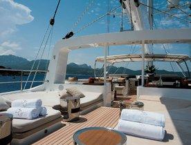 Luxury Sailing Yacht SALUTE Renamed BAYESIAN