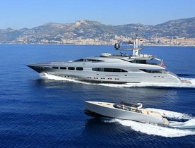 Motor Yacht AUSPICIOUS Refit Showcased at Monaco