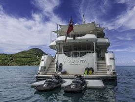Superyacht AQUAVITA Reduces Charter Rate In The Bahamas