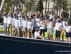 Charter Yacht BOLERO Cruises to Victory at Superyacht Cup Palma 2017