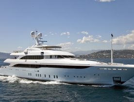 Mediterranean charter deal aboard superyacht VICTORY