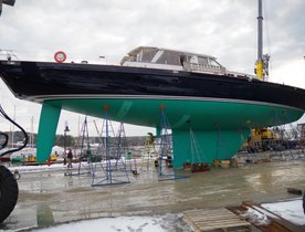 Sailing Yacht AXIA Receives Accolade at Refit Excellence Awards
