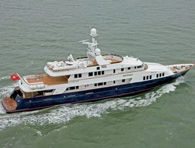 Newly Refitted Superyacht BROADWATER Available in the Caribbean