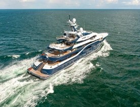 NEW EXCLUSIVE: Lurssen Charter Yacht SOLANDGE Delivered in time  for winter in the Caribbean