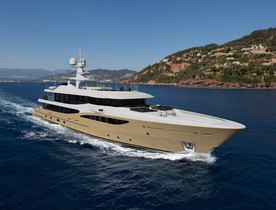 Brand New Amels Motor Yacht LILI Opens for Charter in Norway