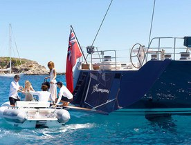 Superyacht SHAMANNA Cruises to the Caribbean for Winter Charters