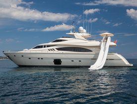 Corsica yacht charter deal: superyacht 'Porthos Sans Abri' lowers rate
