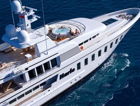 Superyacht HARLE Open for Event Charters at Monaco Grand Prix