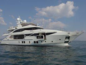 Brand New Benetti Superyacht SKYLER Joins Global Charter Fleet