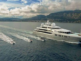 Brand New 80m Superyacht ELEMENTS To Debut At The Monaco Yacht Show 2016