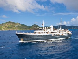 Charter Yacht SHERAKHAN Available This Summer