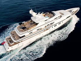 Superyacht SEALYON Prepares for Palm Beach Boat Show