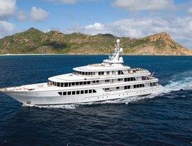 Superyacht UTOPIA Remaining Availability