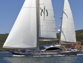 Sailing Yacht MERLIN Reduced Charter Rates in Turkey
