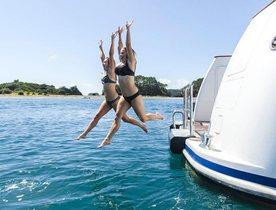 Charter Yacht RELENTLESS Open In Fiji Following Full Refit