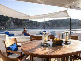 South of France yacht charter deal announced with superyacht IRISHA