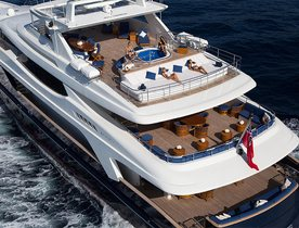 Superyacht MISCHIEF Open for Winter Charters in Saint Martin