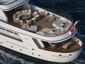 Charter Yacht SIRAHMY Available in East Med