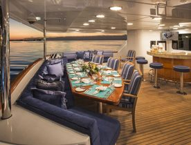 Christensen Superyacht 'Lady Bee' Opens for the Holidays in the Caribbean