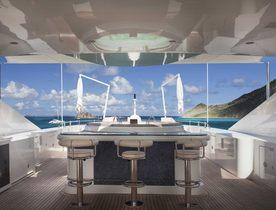 Benetti Superyacht JAGUAR Opens for Caribbean Charters