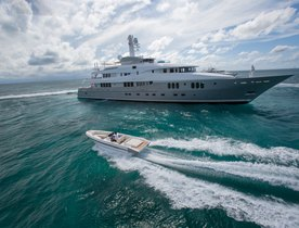 Luxury Yacht DREAM Reduces Weekly Rate for Caribbean Charters