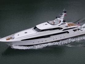 Superyacht USHER Available for Christmas Charter in the Bahamas