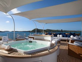 Superyacht STARFIRE Newly Available for Christmas Charter in the Caribbean