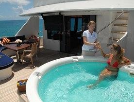 Superyacht 'Dona Lola' available for Bahamas yacht charters