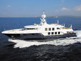 Summer Charters in Ibiza on Motor Yacht NATORI