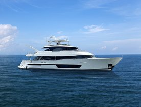 Brand new for charter: recently launched 36m motor yacht I C joins the fleet