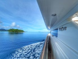 Charter yacht ENCORE adventures to New Zealand and the South Pacific